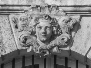 Exemple de Mascaron à Bordeaux